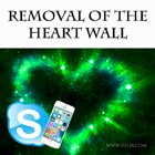 Heart wall removal distans 3x30 min